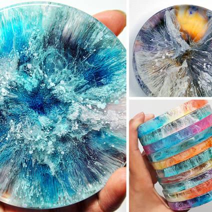 Petri-Dish Resin Art Using GlassCast 10 Jewellery Epoxy